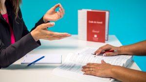 alteração código de trabalho